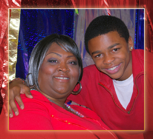 Yolanda Cephus as Mama & Jeremiah Craft as the Son