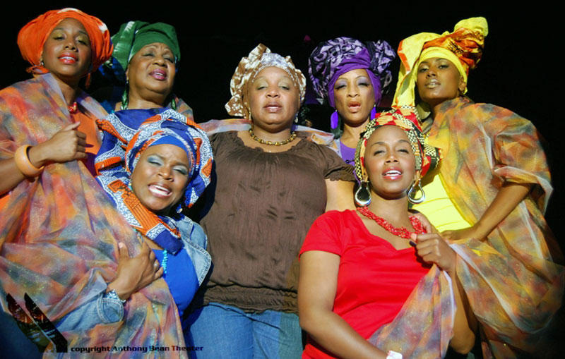 Cast of For Colored Girls