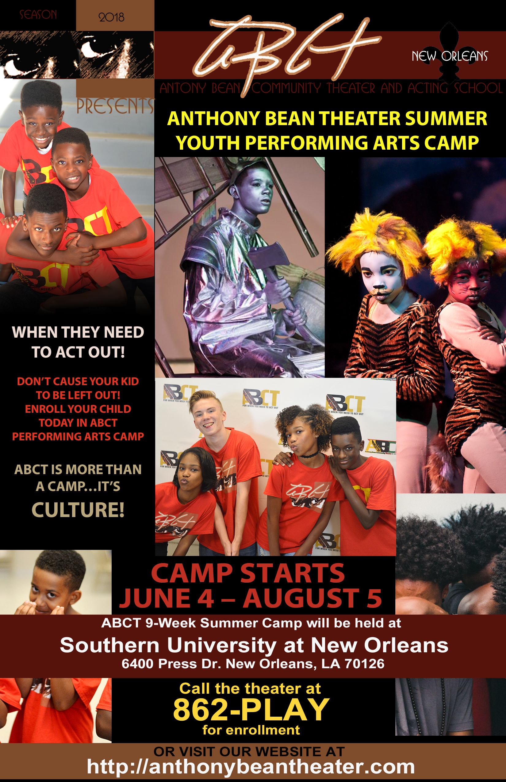 The Summer Camp Flyer